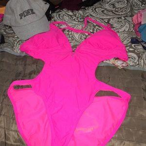 OP one piece bathing suit. 🏖☀️
